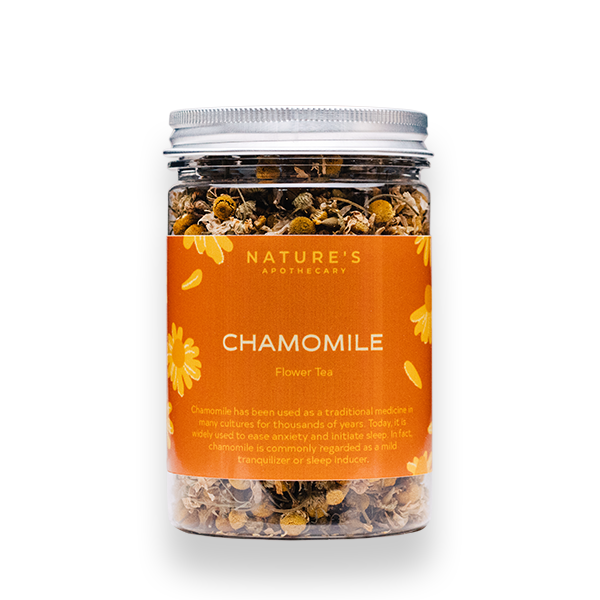 Nature's Apothecary - Chamomile Flower Tea (25g).png